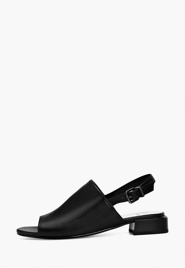 женские сандалии эконика, черные