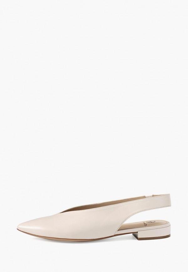 женские туфли эконика, бежевые