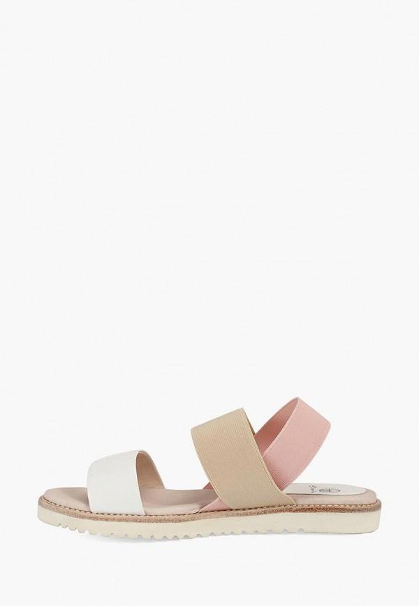 женские сандалии эконика, разноцветные