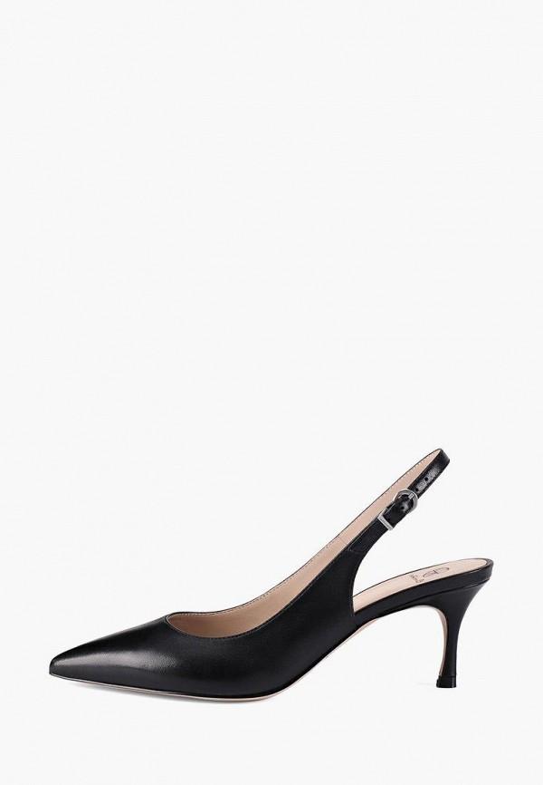 женские туфли эконика, черные