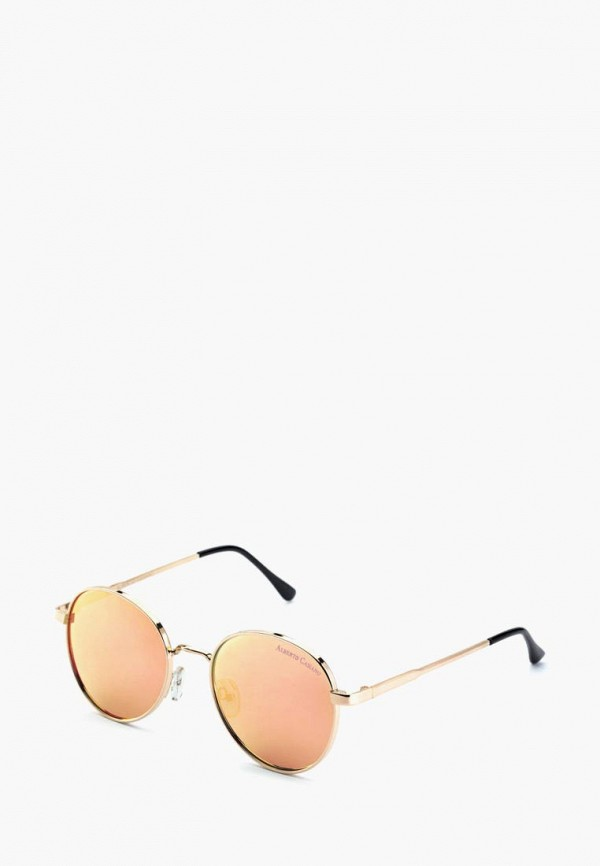 женские солнцезащитные очки alberto casiano, золотые
