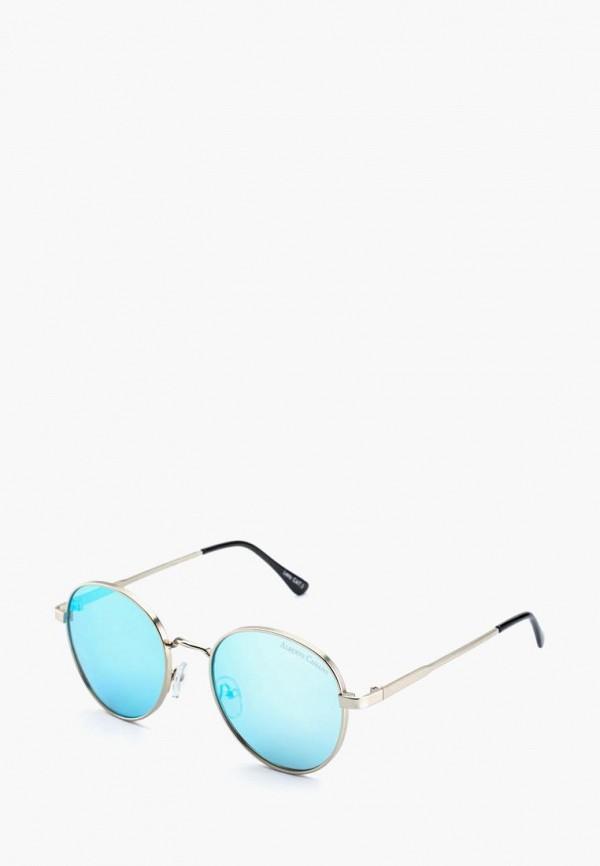 женские солнцезащитные очки alberto casiano, серебряные