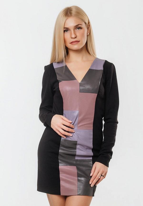 женское повседневные платье ornato, черное