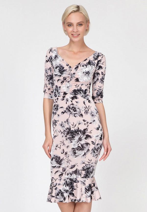 женское повседневные платье ornato, розовое