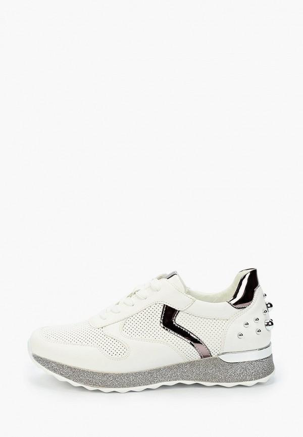 женские низкие кроссовки t.taccardi, белые