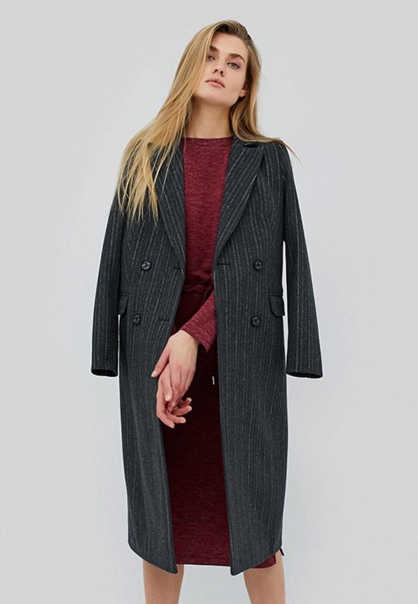женское пальто cardo, серое