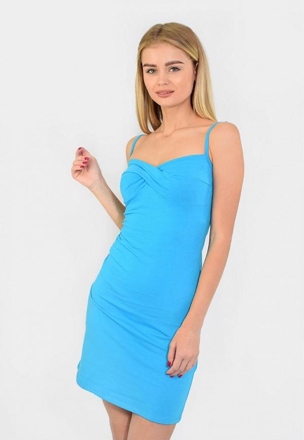 женские сорочка ночная n.el, голубые