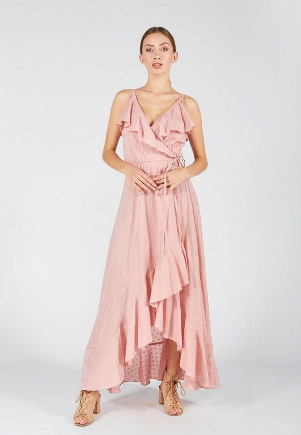женский сарафан ora, розовый