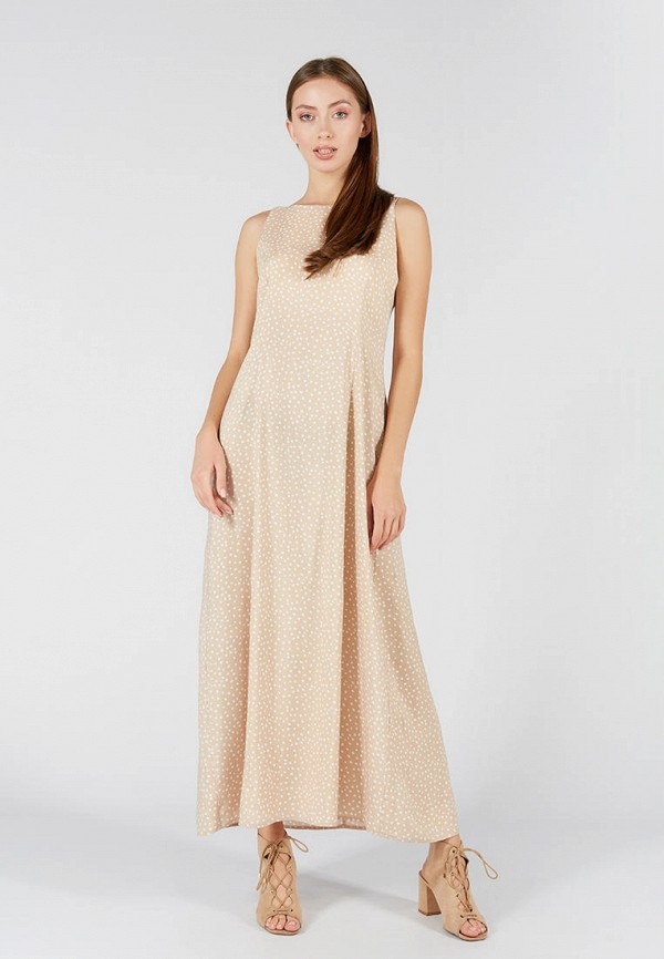 женское повседневные платье ora, бежевое