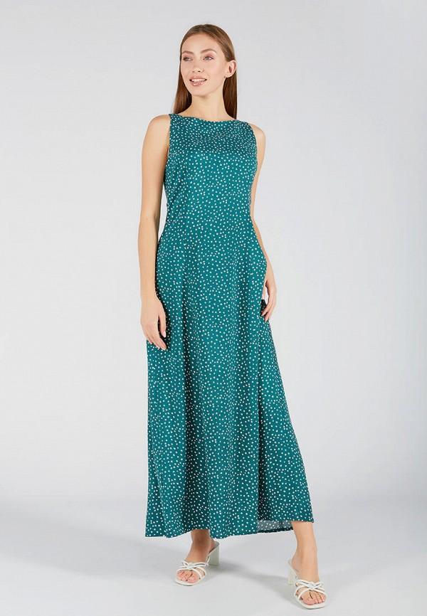 женское повседневные платье ora, зеленое