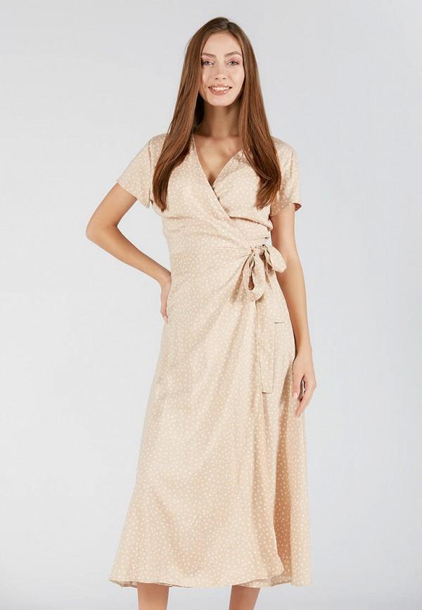 женское платье ora, бежевое