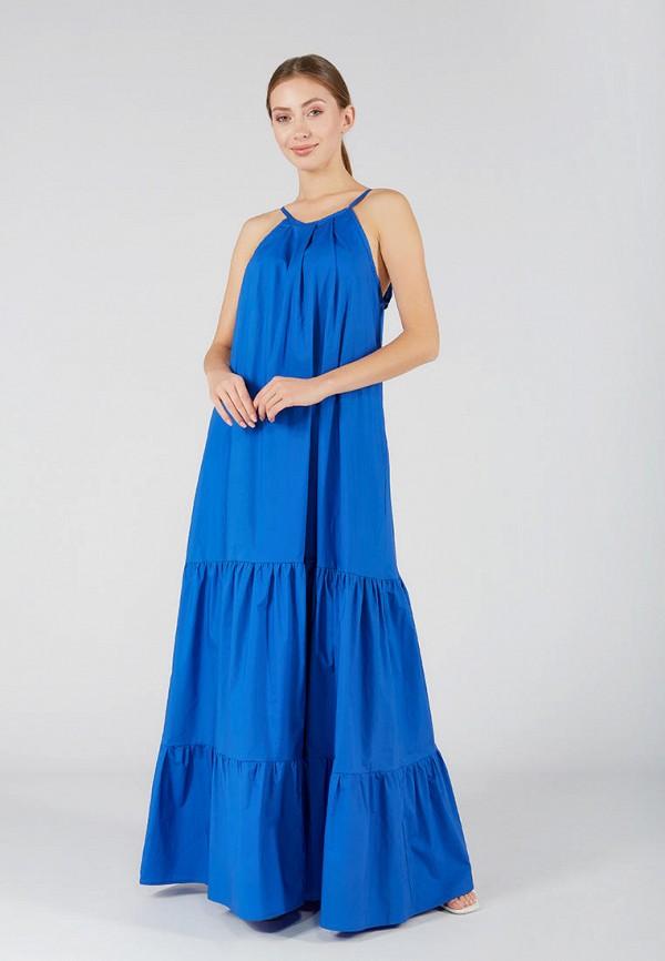 женский сарафан ora, синий