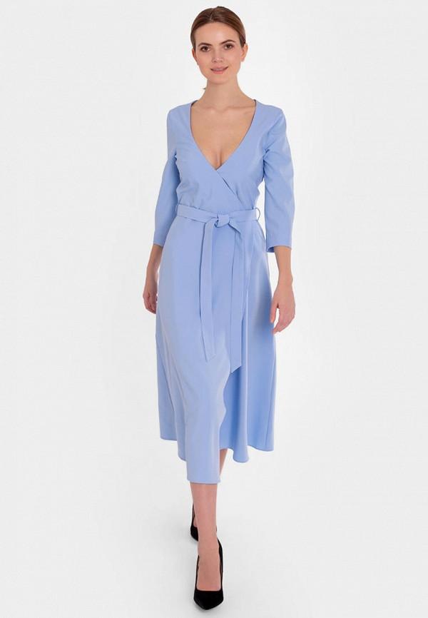 женское платье nai lu-na by anastasia ivanova, голубое