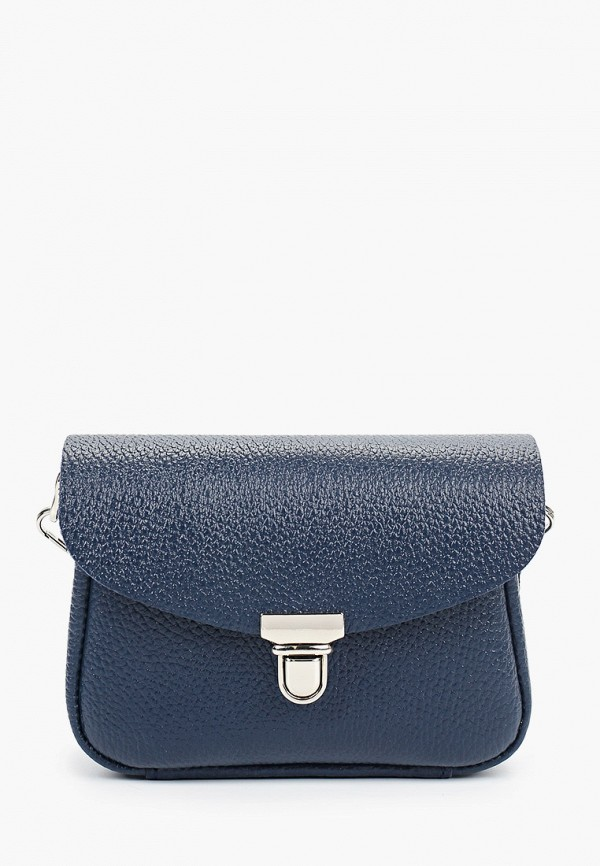 женская сумка через плечо divalli, синяя