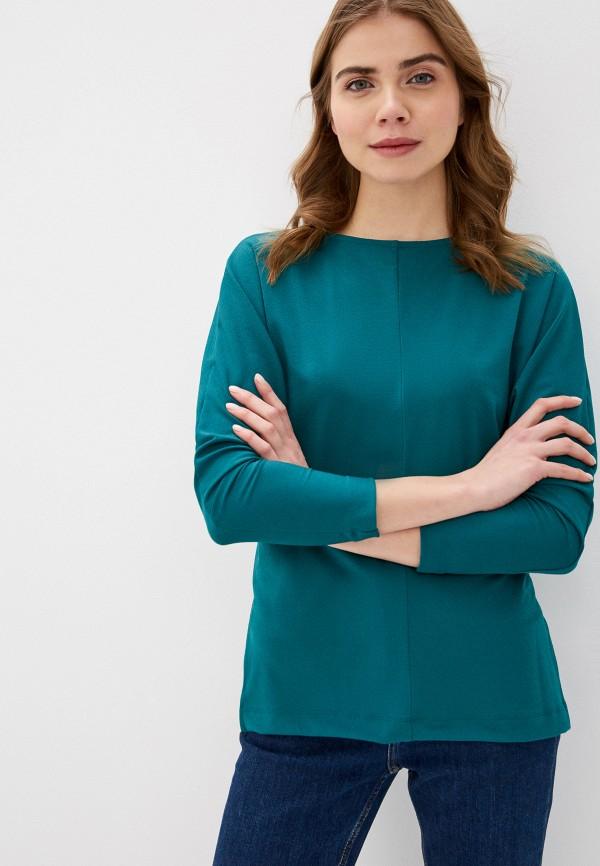 женская блузка с длинным рукавом mark formelle, зеленая