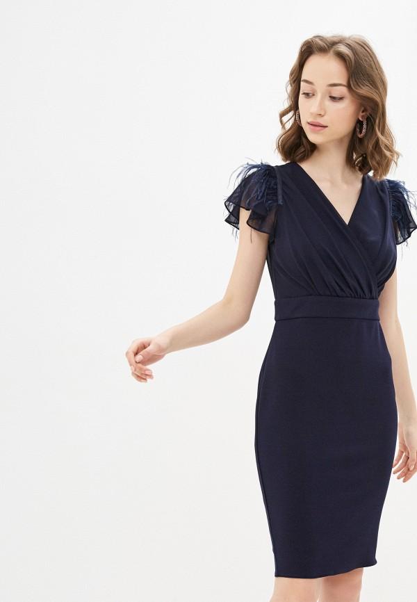 Фото - Женское вечернее платье Joymiss синего цвета
