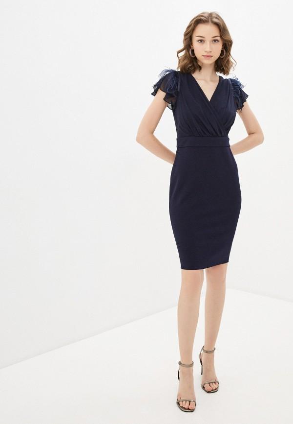 Фото 2 - Женское вечернее платье Joymiss синего цвета