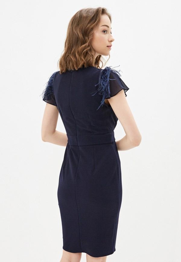 Фото 3 - Женское вечернее платье Joymiss синего цвета