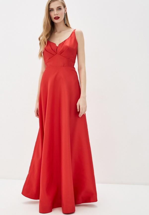 Фото - Женское вечернее платье Joymiss красного цвета
