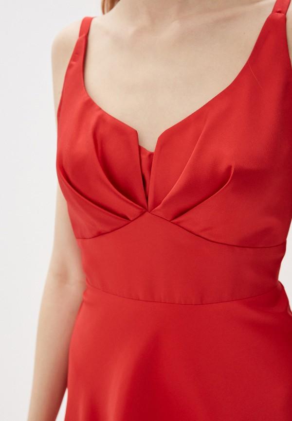 Фото 4 - Женское вечернее платье Joymiss красного цвета