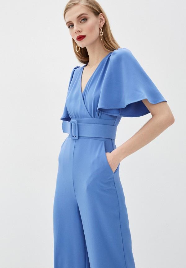 Фото 2 - Женский комбинезон Joymiss голубого цвета