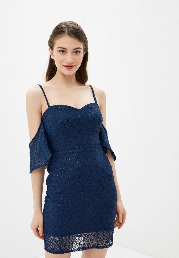 Платье Joymiss синего цвета