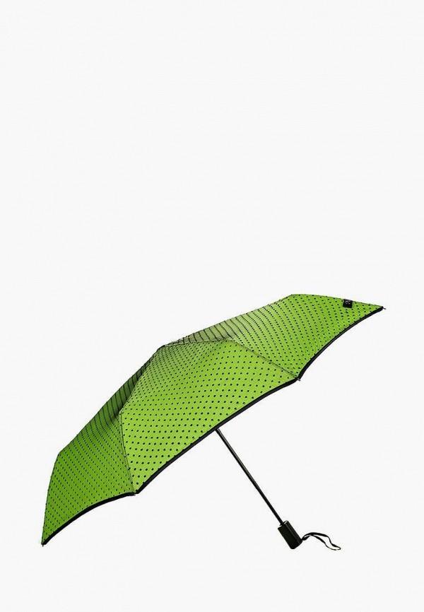 женский складные зонт flioraj, зеленый