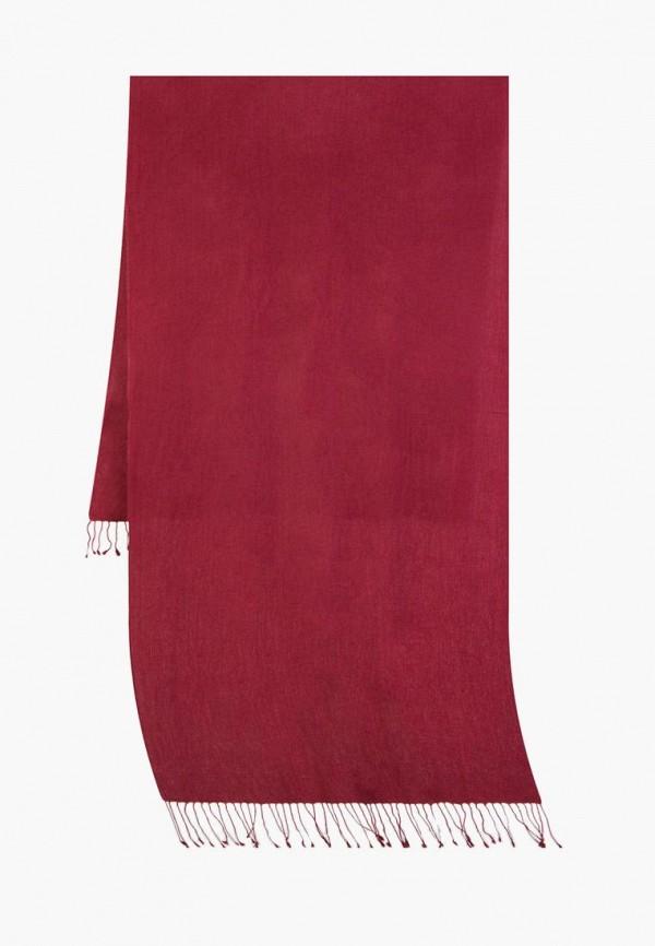 женский палантин michel katana, бордовый