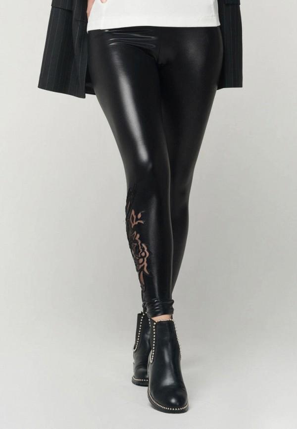 женские леггинсы ricamare, черные
