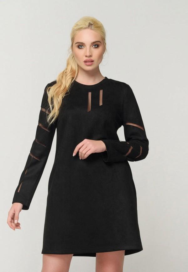 женское повседневные платье ricamare, черное