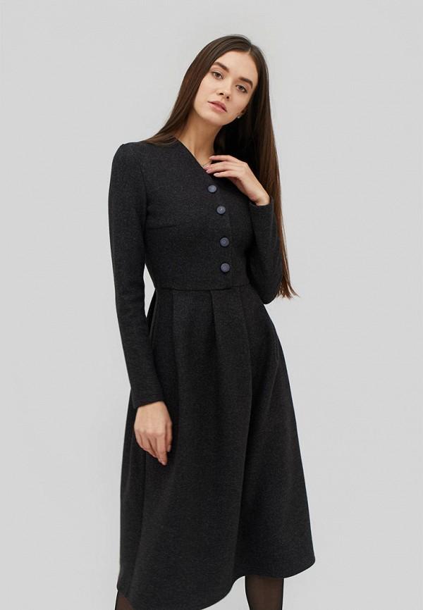 женское повседневные платье cardo, серое