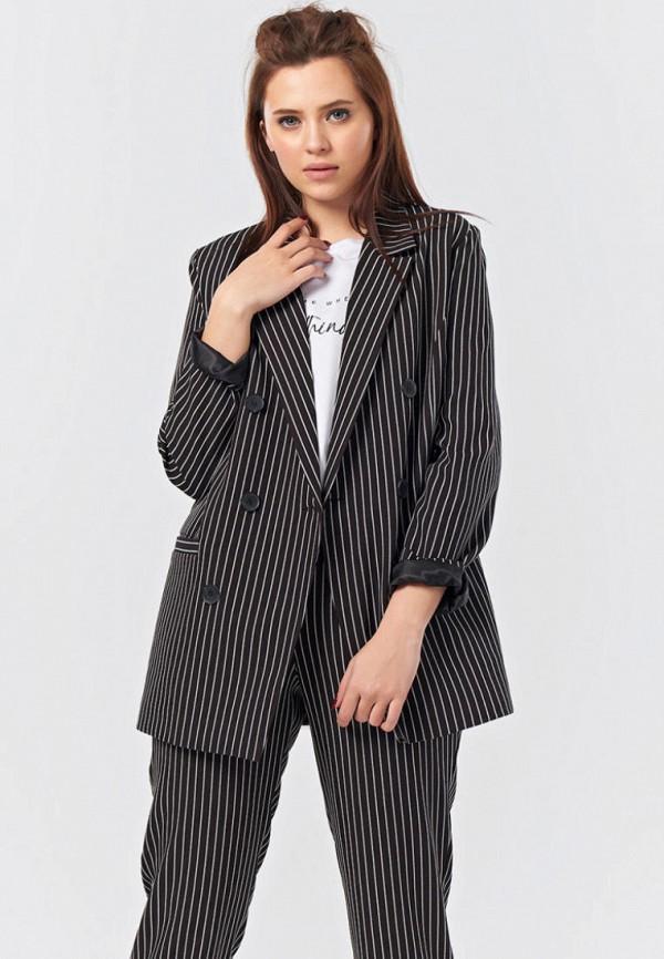 женский пиджак fly, черный