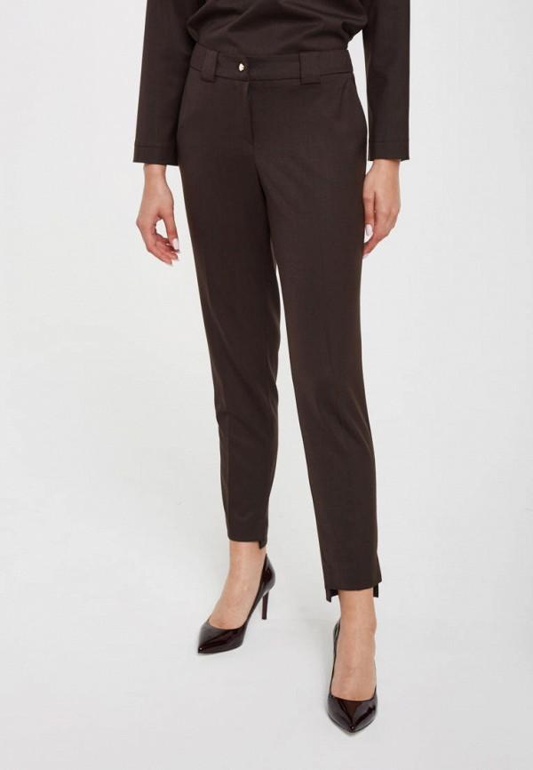 женские классические брюки pattern, коричневые