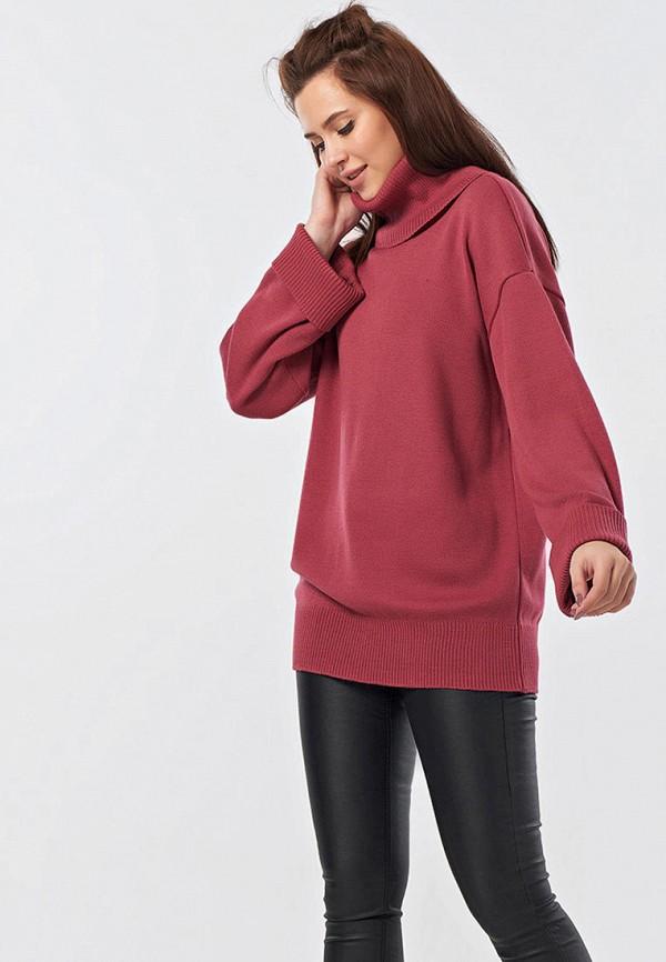 женский свитер fly, розовый