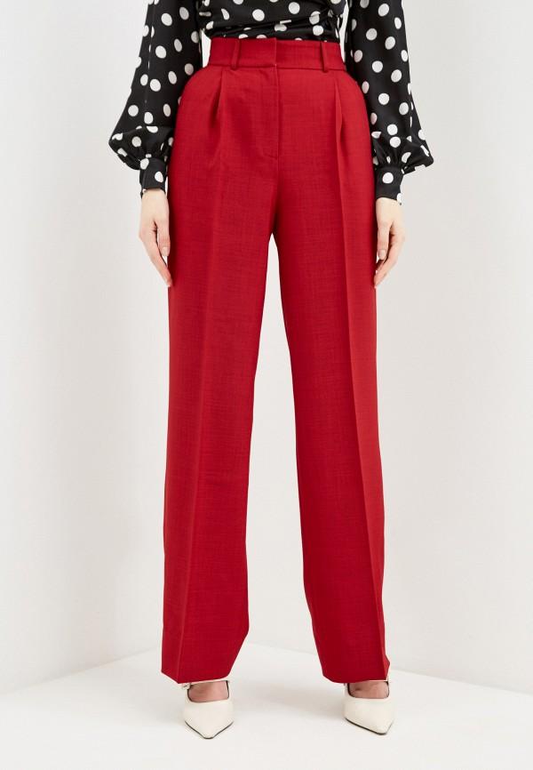 женские повседневные брюки self made, красные