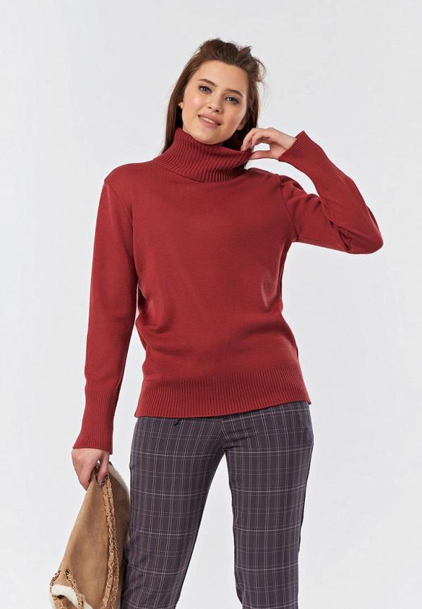 женский свитер fly, бордовый