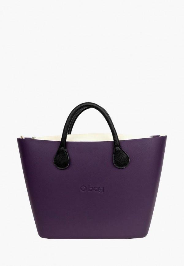 женская сумка o bag, фиолетовая