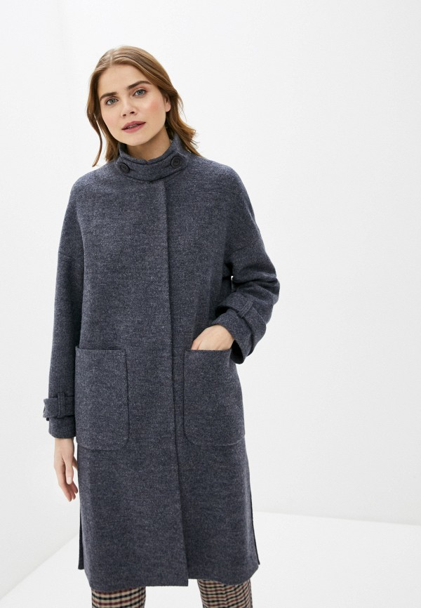 женское пальто vamponi, серое