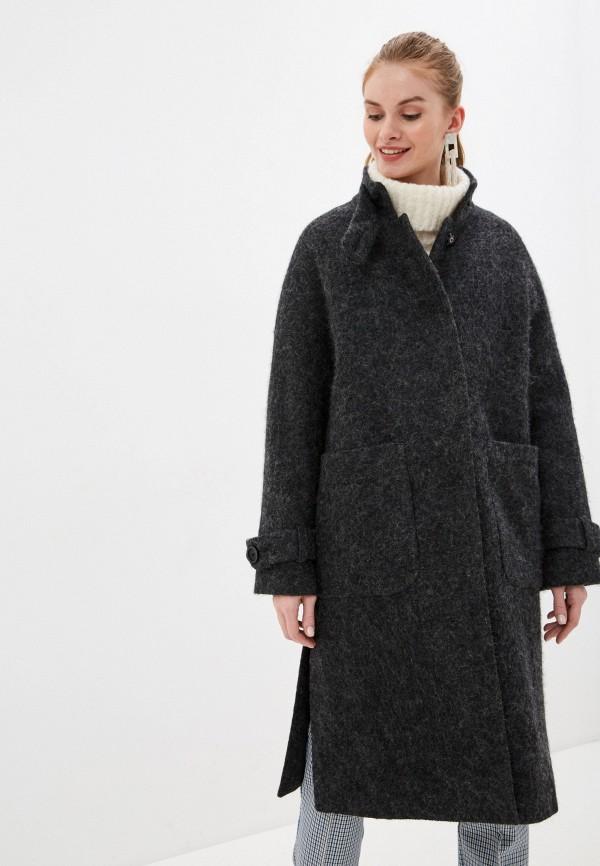 женское пальто vamponi, черное