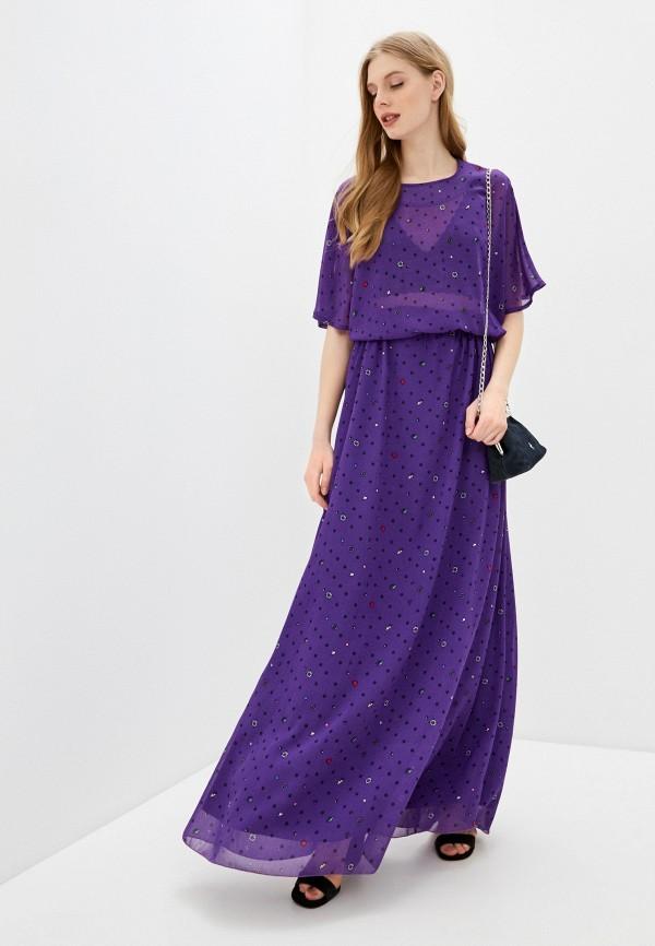 Платье Anika Kerimova Anika Kerimova  фиолетовый фото