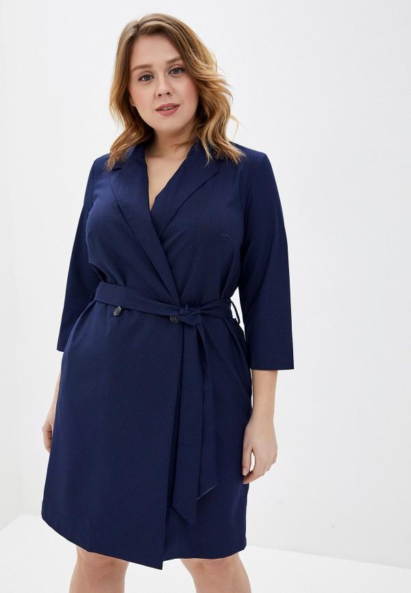 женское платье-пиджаки viserdi, синее
