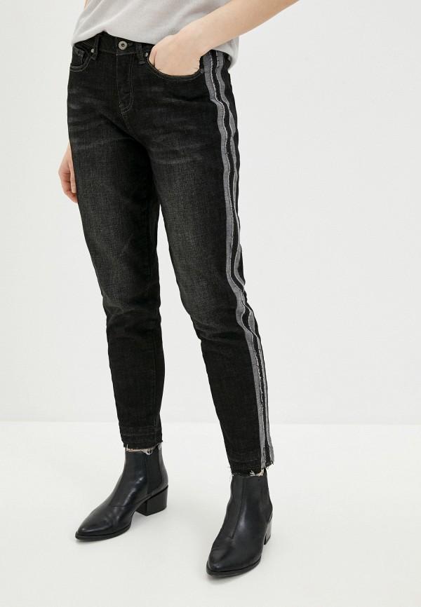 женские джинсы бойфренд krapiva, черные