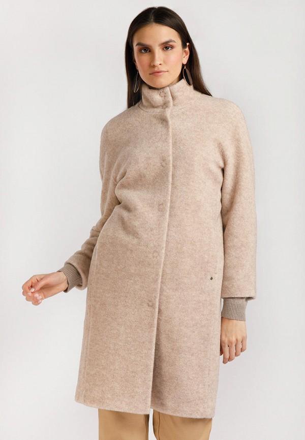 Пальто Finn Flare розового цвета
