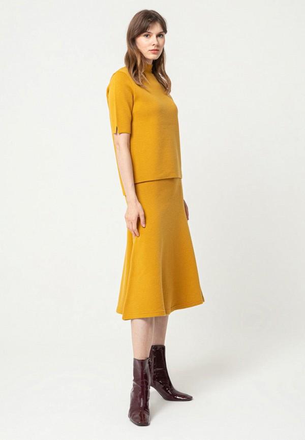 женский костюм bgn, желтый