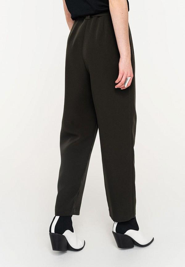 Фото 3 - Женские брюки Befree цвета хаки