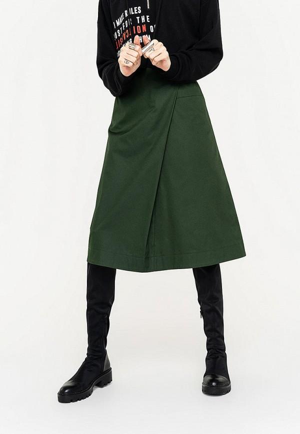 Фото - Женскую юбку Befree зеленого цвета