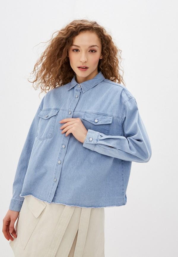 Рубашка джинсовая Befree Befree MP002XW0HXW2 все цены