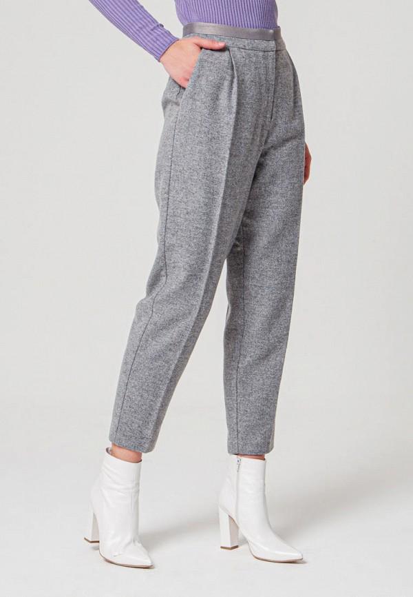 женские повседневные брюки bgn, серые