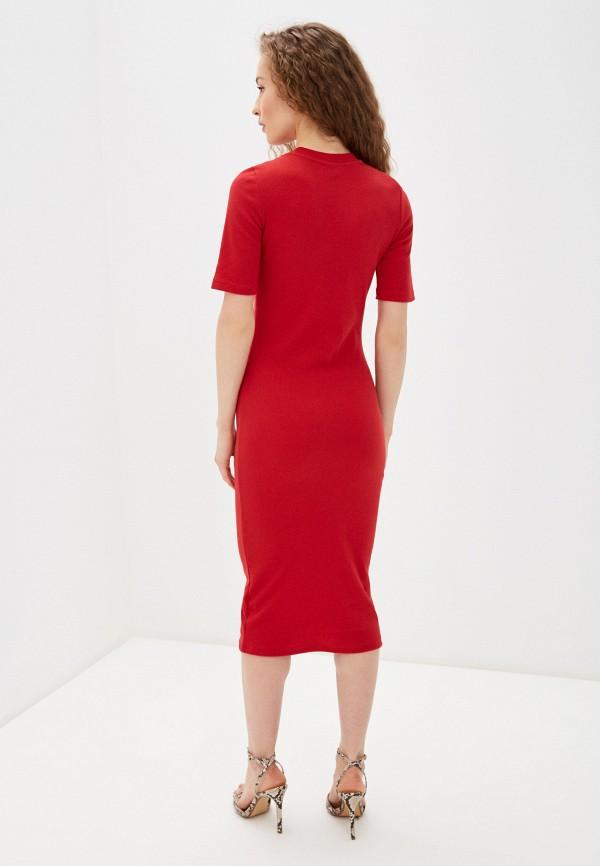 Фото 3 - Женское платье Befree красного цвета