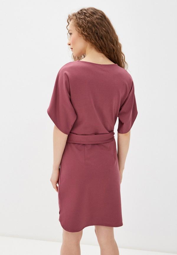 Фото 3 - Женское платье Befree розового цвета